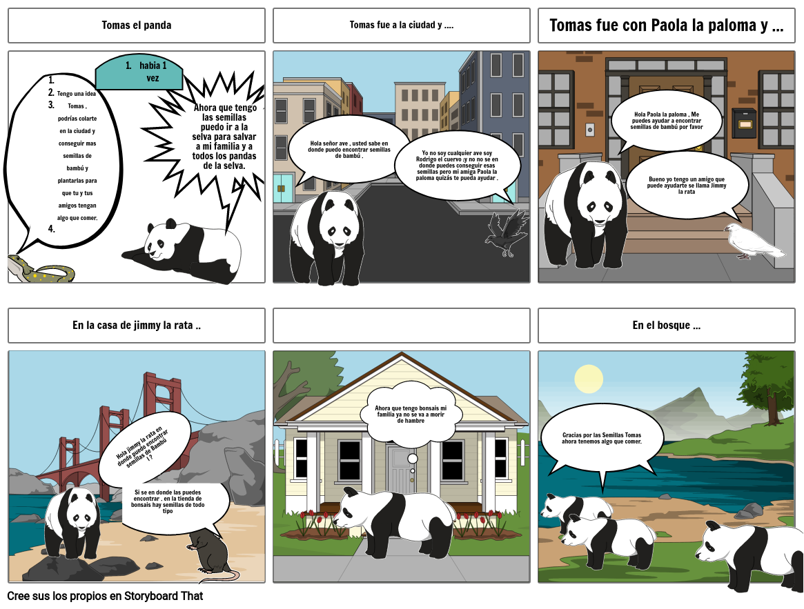 LA Aventura de  Tomas el Panda