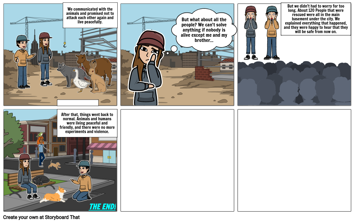 My Apocalypse Story (Continued 2)