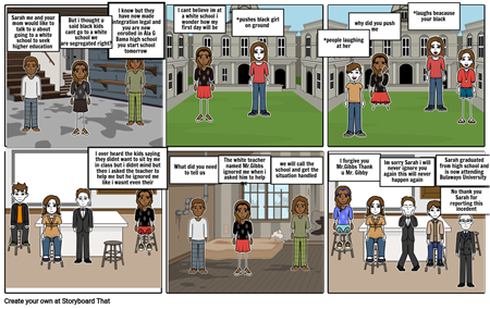 My journey of being in a white school