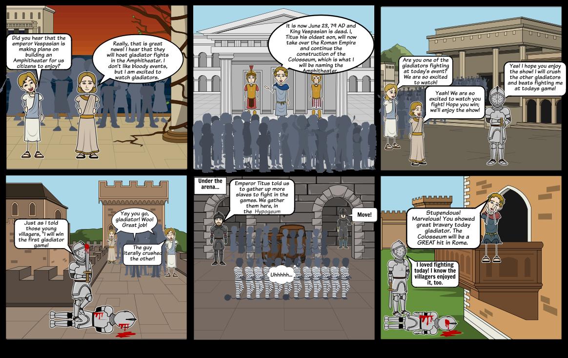 The Colosseum Scene 1