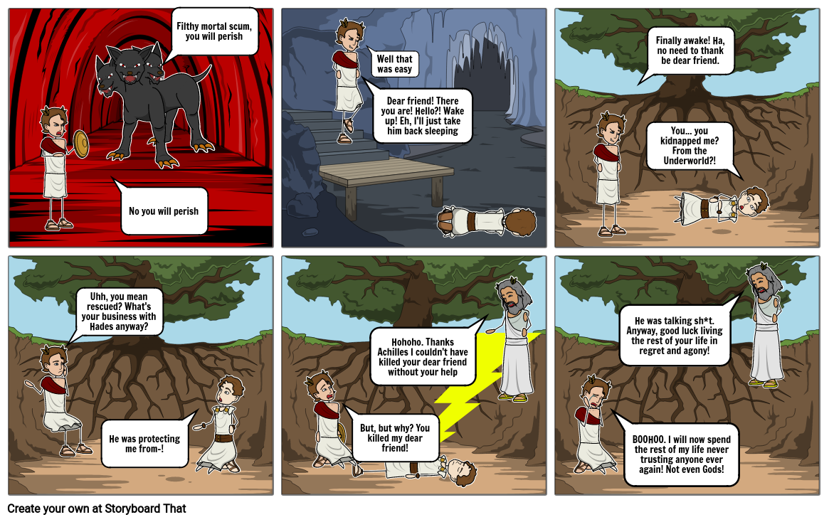 Achille's Journey (Continued)