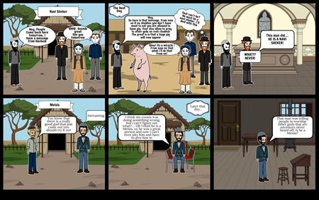 Chumash Comic