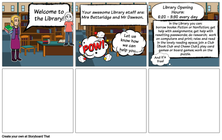 Library Welcome