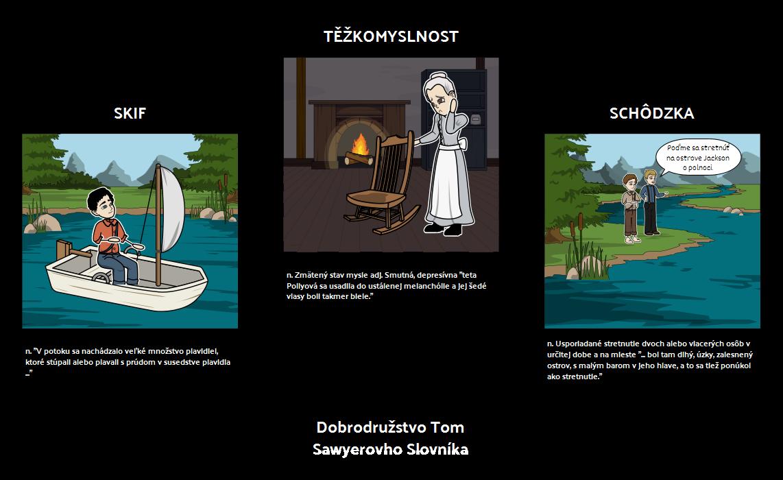 Dobrodružstvo Tom Sawyerovho Slovníka