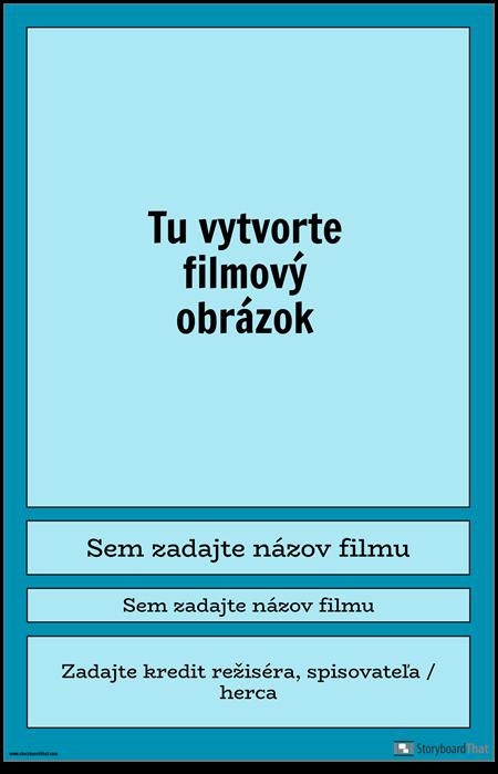 Filmový Plagát 1