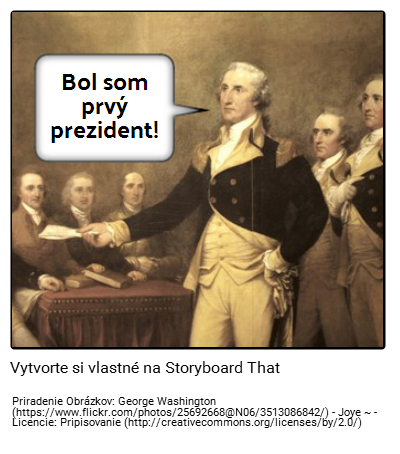 George Washington Príklad