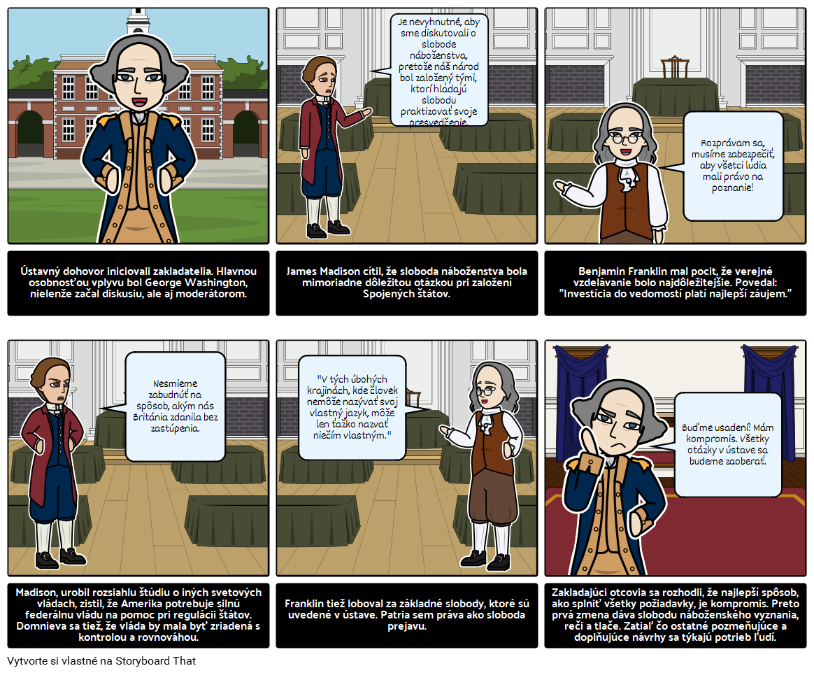 História USA - Zakladatelia