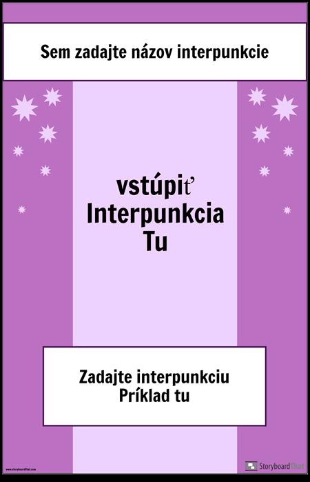 Interpunkčný Plagát 2