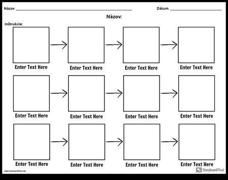 Jednoduchý Diagram - 3 Riadky
