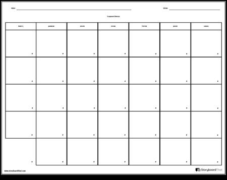 Kalendár - 7 dní