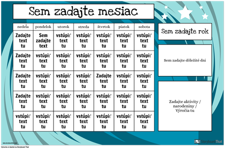 Kalendár 1
