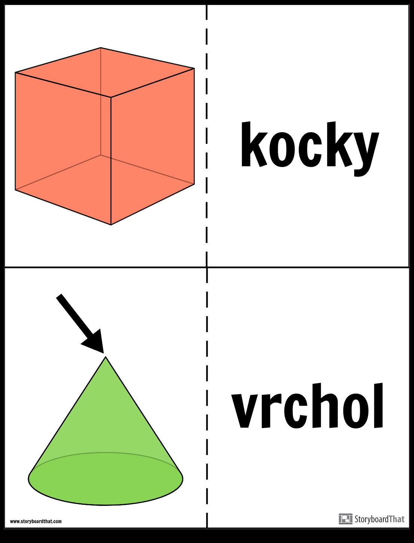 Karty na Geometriu Pevných Látok