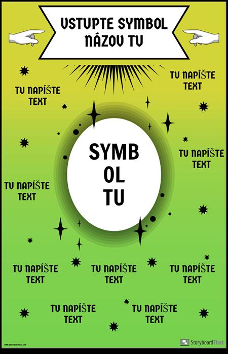 Matematický Symbolový Plagát