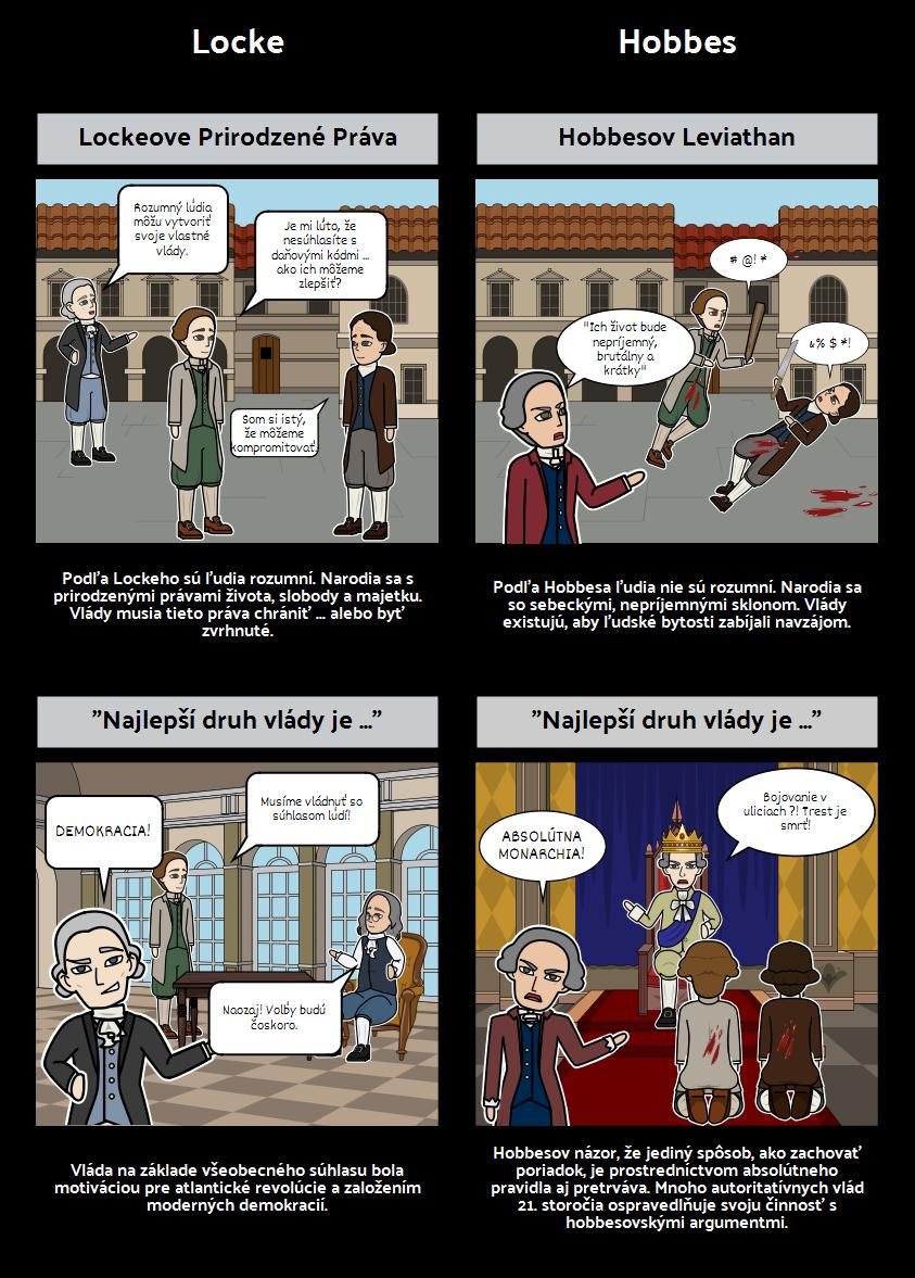 Osvietenie Vedeckej Revolúcie - Locke vs. Hobbes