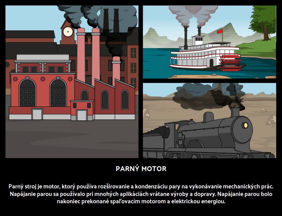 Parný Motor