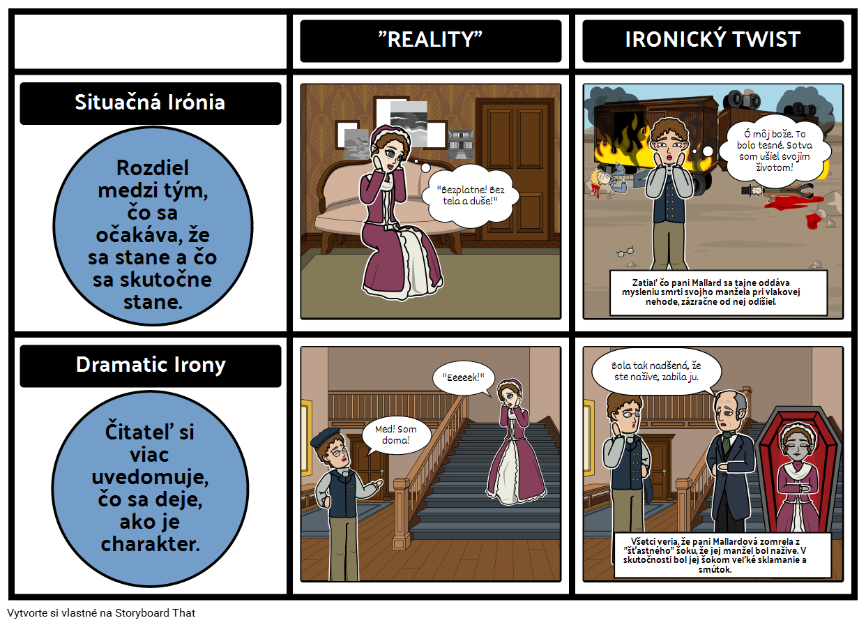 Príbeh Hodiny - Irónia