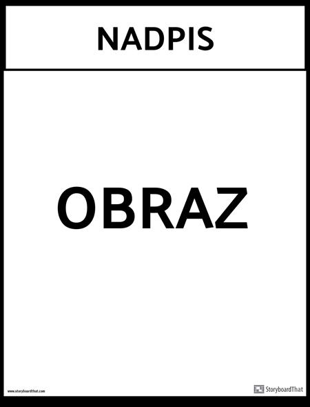 šablóna kancelárskeho plagátu