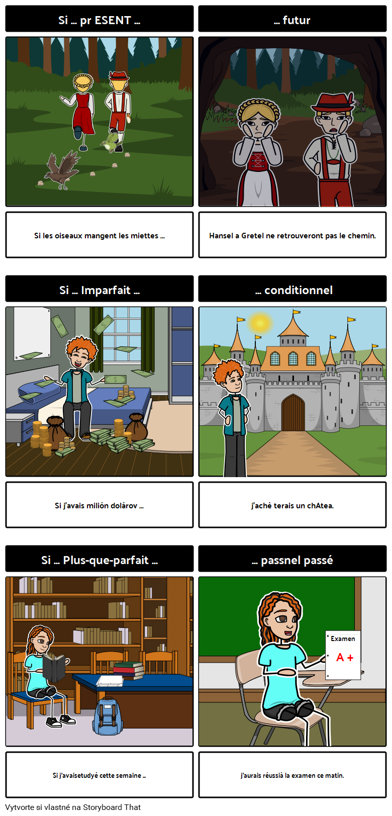 """Stavby """"Si"""" vo francúzštine"""