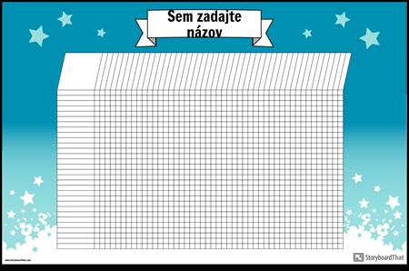 Študijný Graf Plagát Horizontálne
