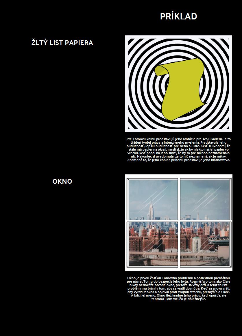 Symboly a Témy v Obsahu Vreciek Mŕtveho Muža