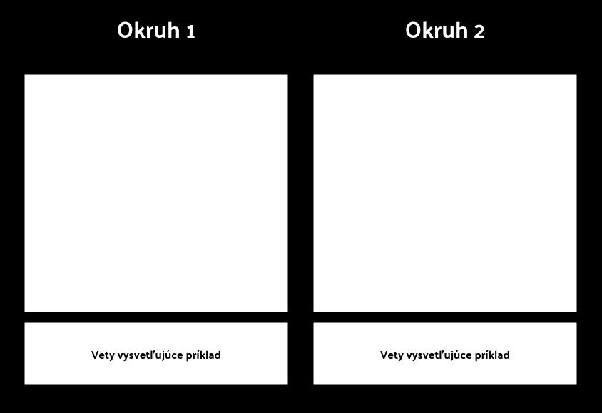 T-graf s popisom 1 riadok