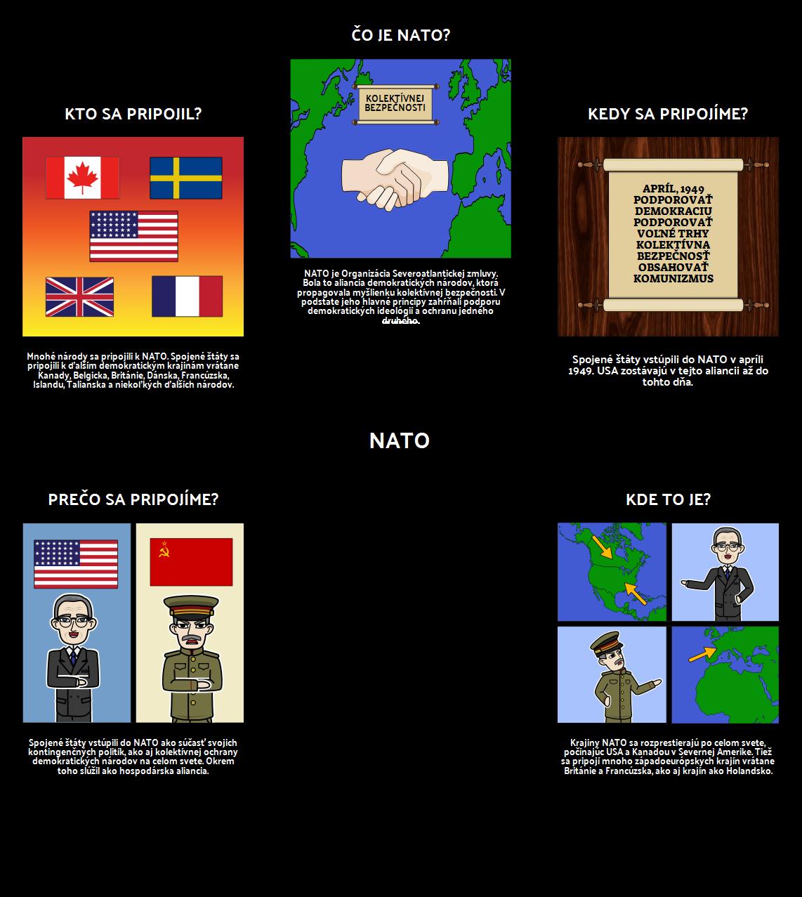 Trumanské Predsedníctvo - 5 W NATO