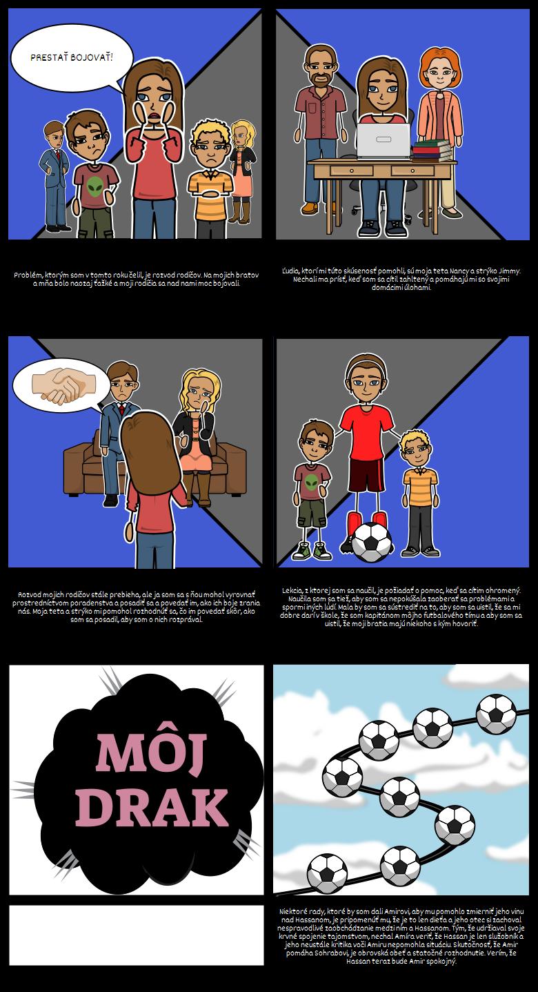 Vytvorte si Vlastný Projekt Kite Storyboard pre Bežec Draka