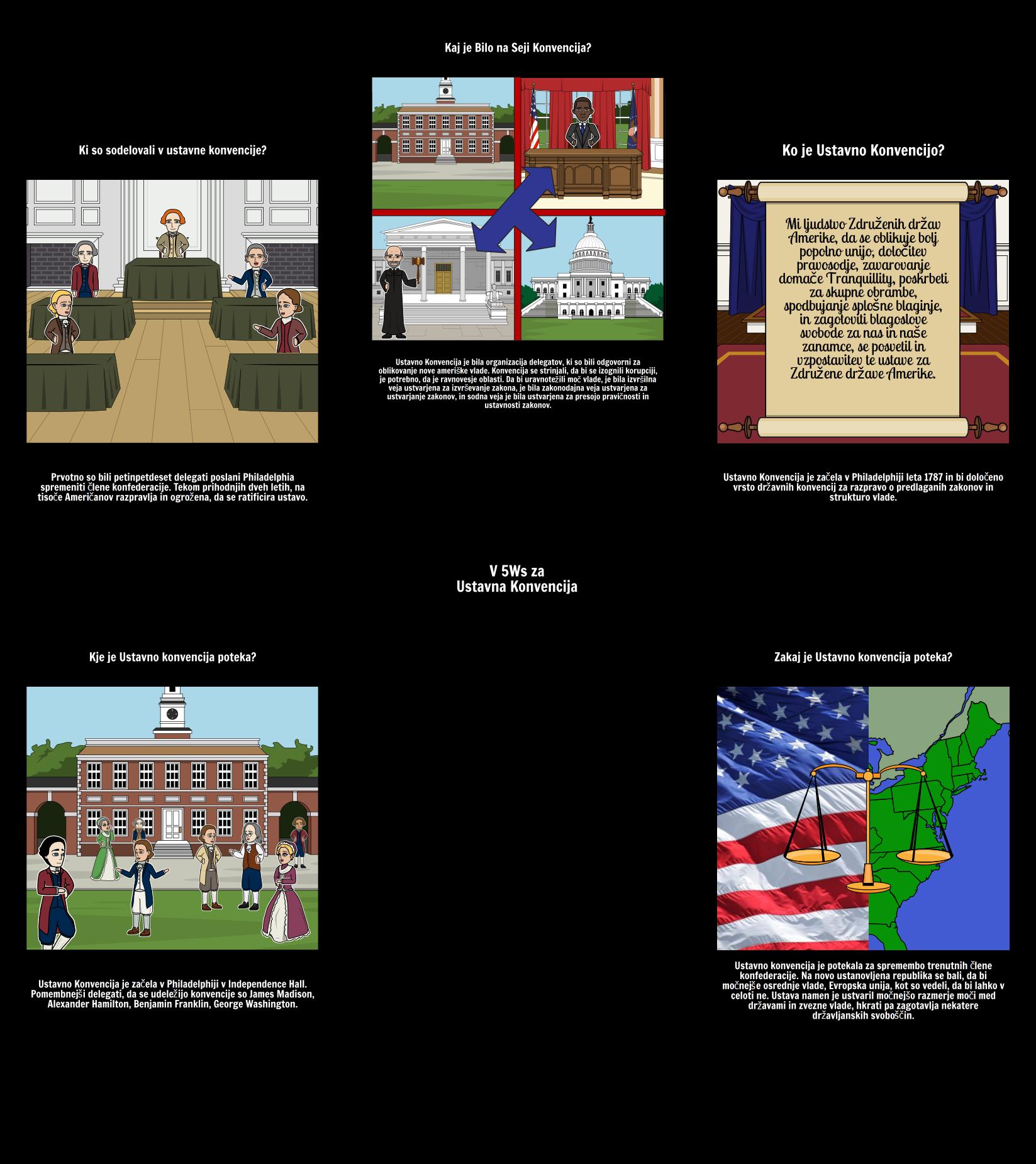 5Ws Ustavne Konvencije
