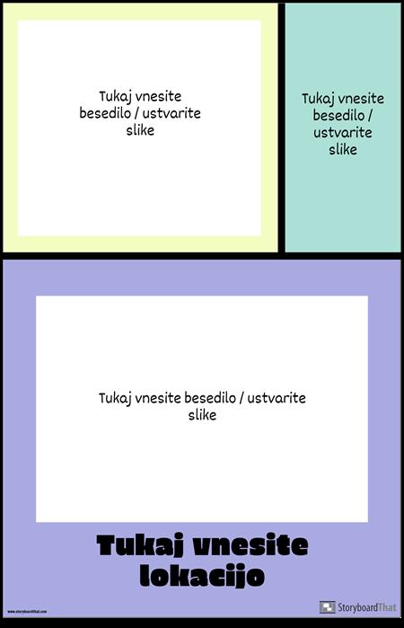 Barvni Blok Potovalni Plakat