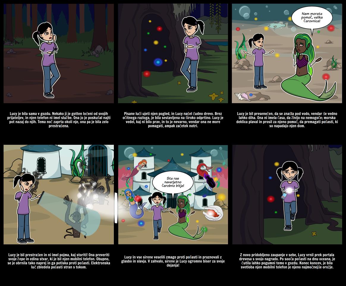 Halloween Dejavnosti - Zgodba Starter