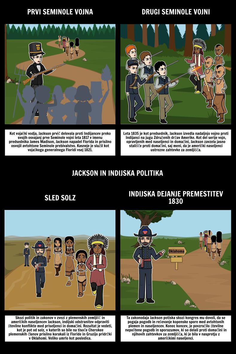 Jacksonian Demokracija - Jackson in Indijsko Politiko