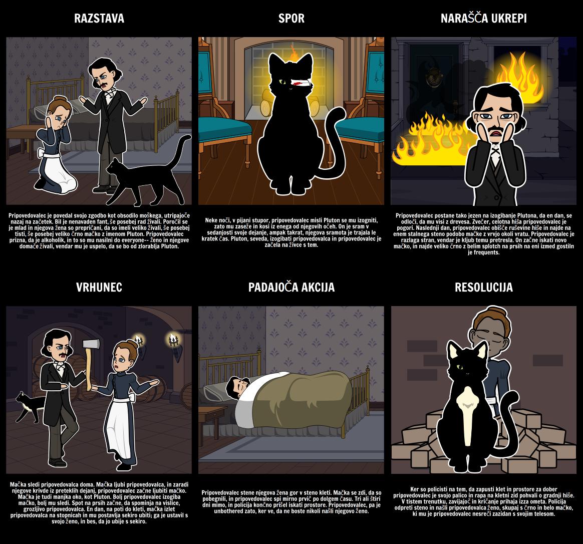 Narišemo Diagram za The Black Cat