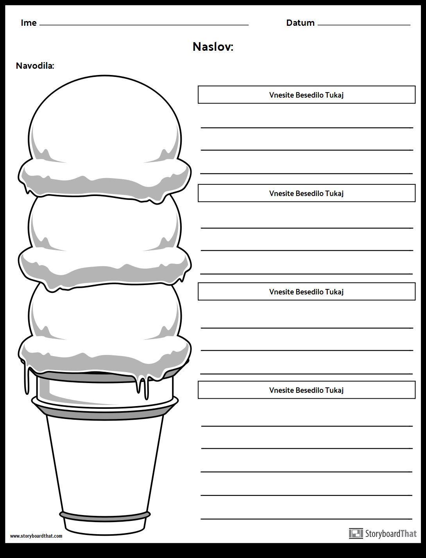 Odstavek za Sladoled