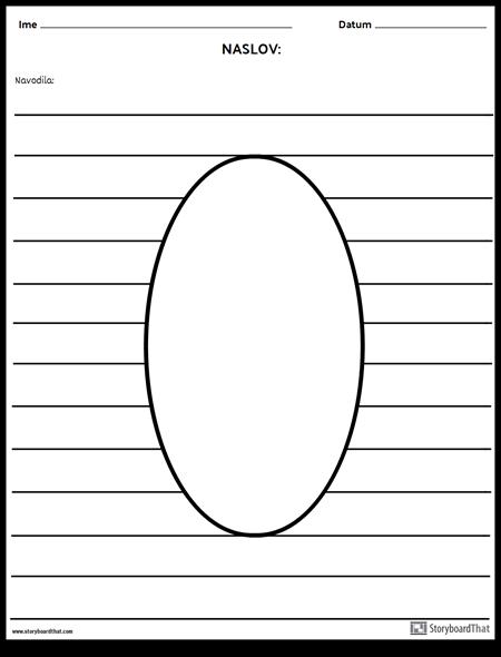 Ovalna Ilustracija