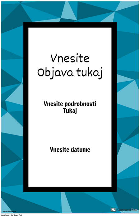 Plakat za Objave
