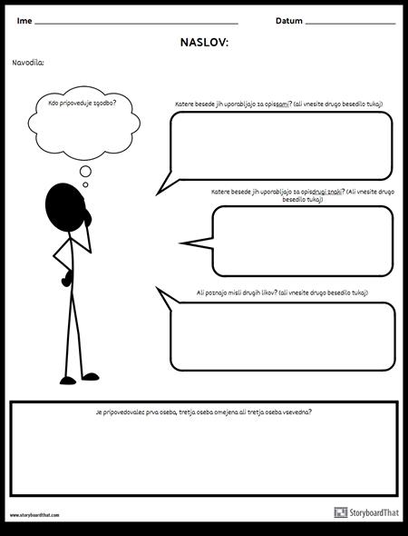 Pogled - Besedilna Polja