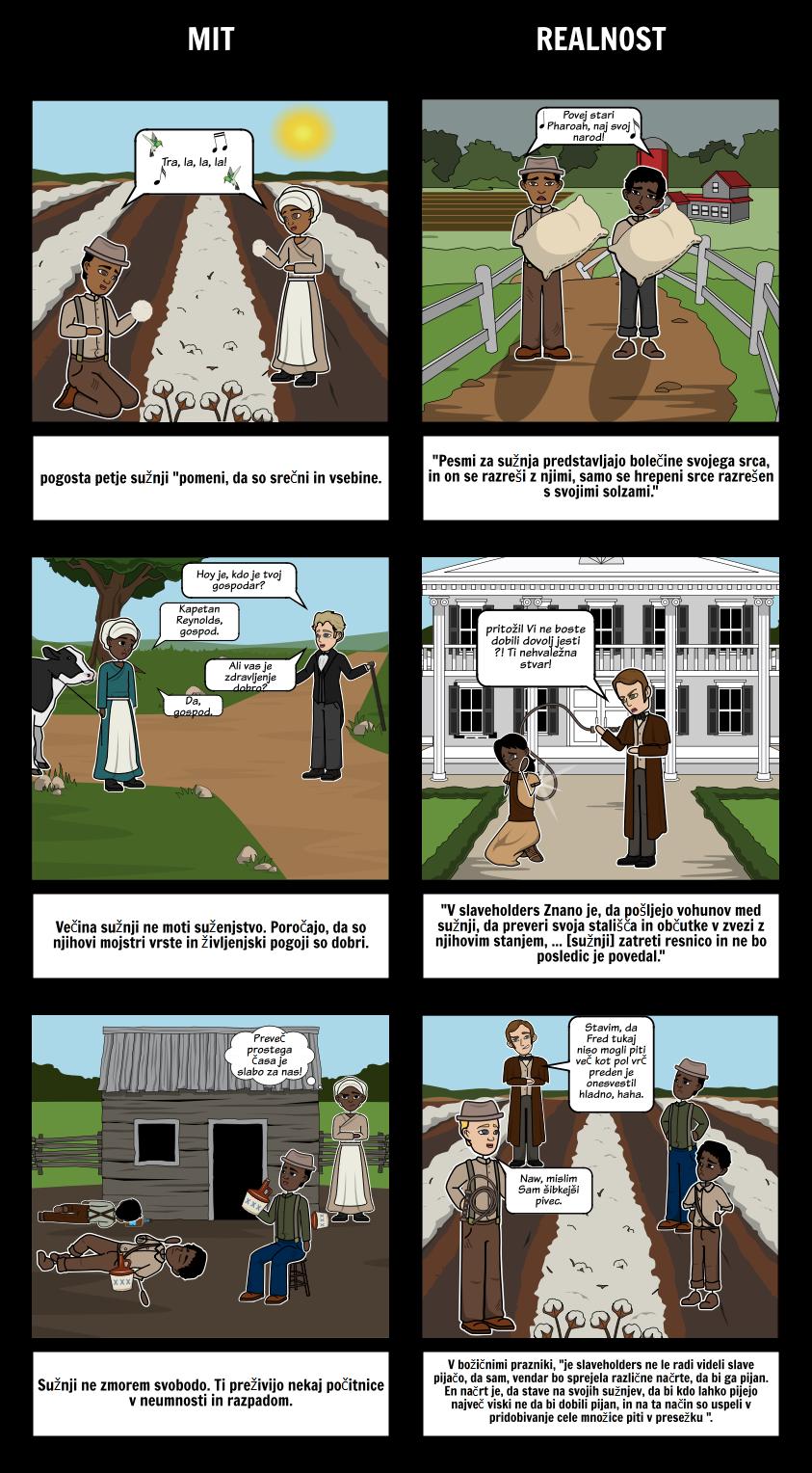 Pripoved o Življenju Frederick Douglass Mythbusters