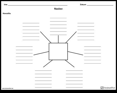 Spiderjeva karta z linijami - 7