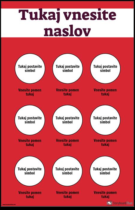Varnostni Simboli Plakat