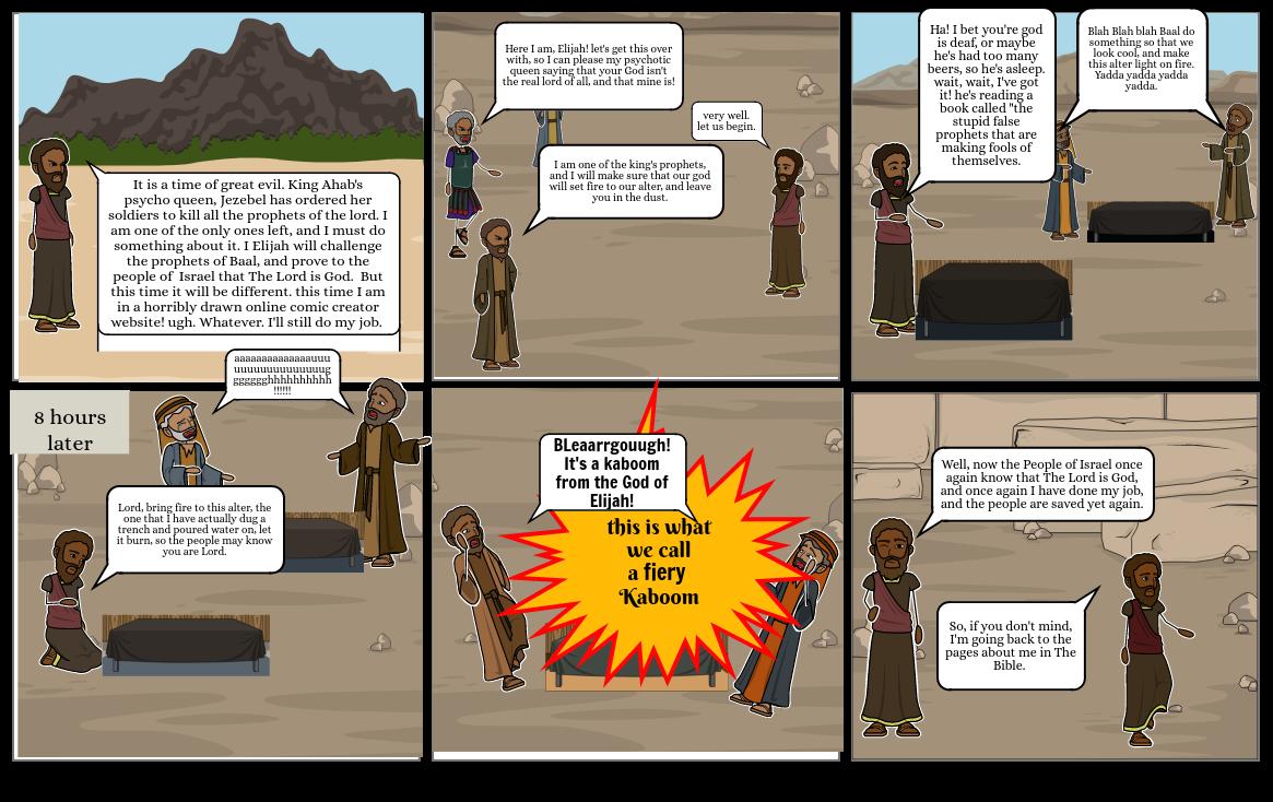 Elijah Bible thing