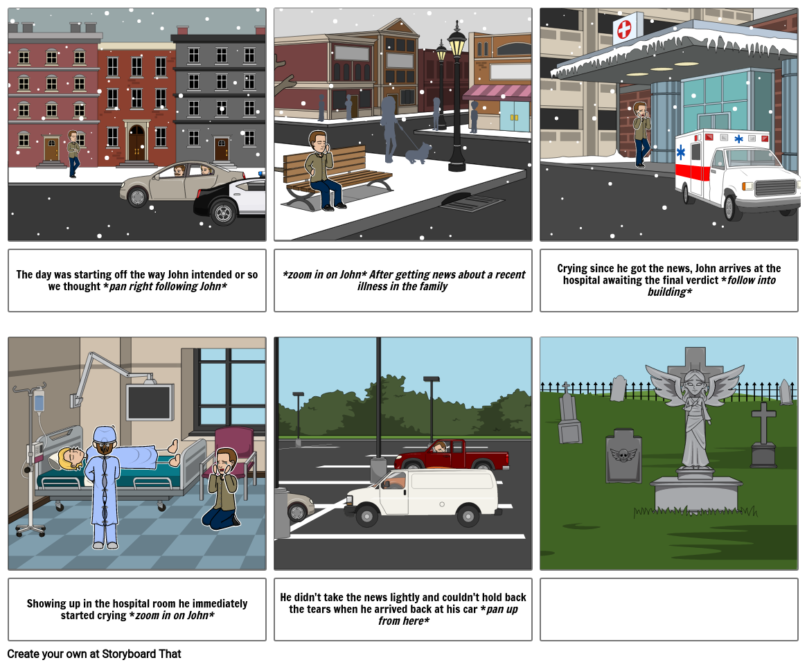 storyboard for art