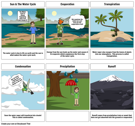 The Water Cycle- By Seth Whalen