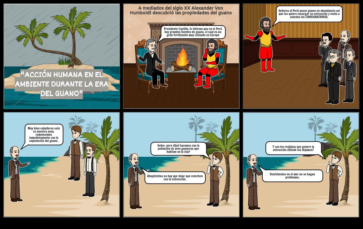 Acción Humana en el Ambiente durante la Era del Guano