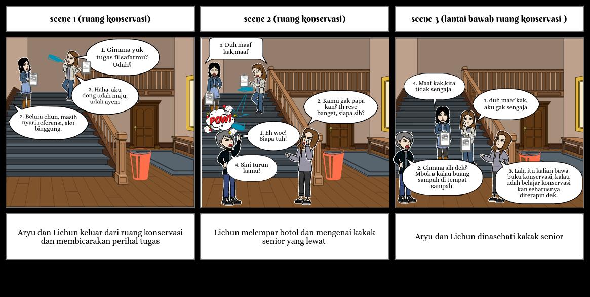 Etika Buang Sampah part 1