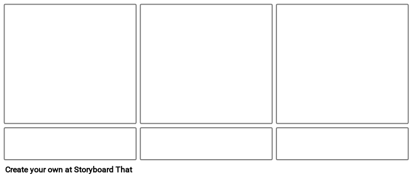 Storyboard Template with Descriptions