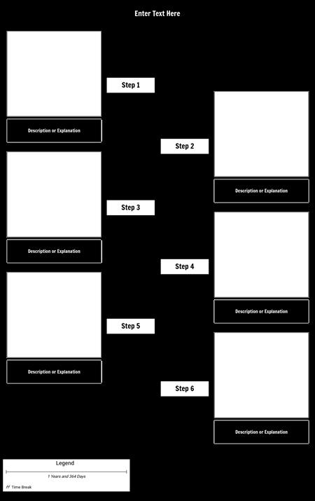 Timeline Template - Steps