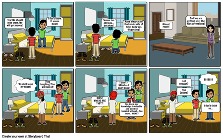 Storyboard Grandparents Part 1
