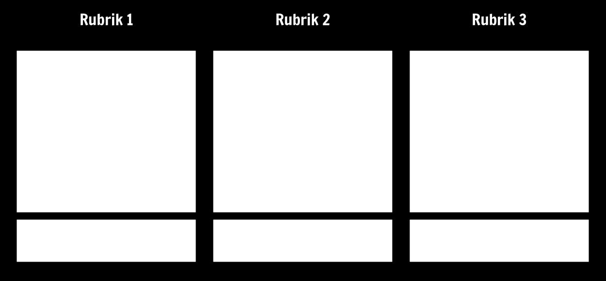 3 Kolumn T-diagram