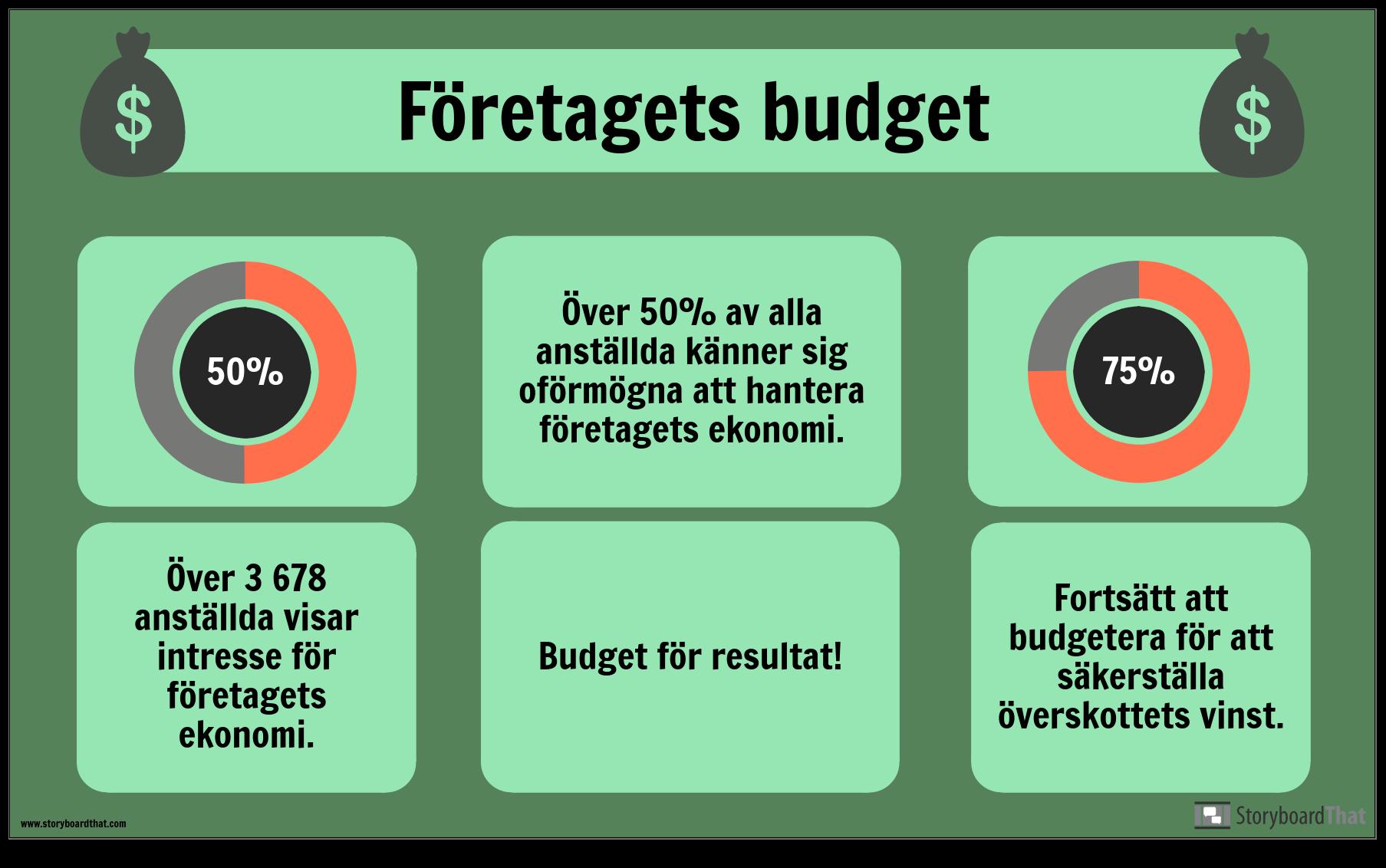 Budget Exempel