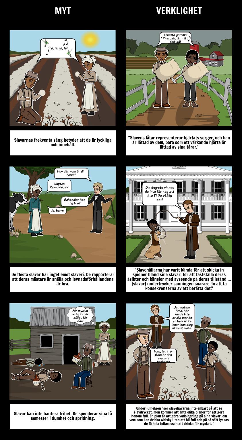 En Berättelse om Livet för Frederick Douglass Mythbusters